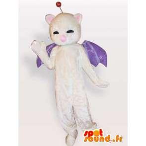 Bat maskotti - yöeläin puku - MASFR001138 - hiiri Mascot