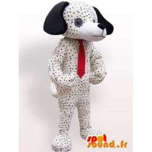 Mascotte de chien dalmatien - Déguisement de chien en peluche