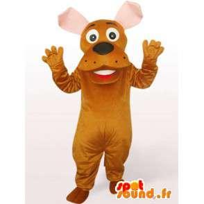 Mad Dog Mascot - nadívané pes kostým - MASFR00945 - psí Maskoti