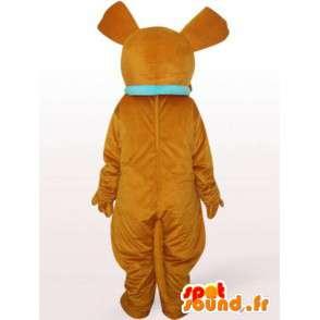 Mascotte de chien fou - Déguisement de chien en peluche - MASFR00945 - Mascottes de chien