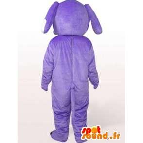 Purple mascot dog - dog costume all sizes - MASFR00968 - Dog mascots