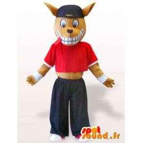 Mascotte de doberman sportif - Déguisement de chien - MASFR00953 - Mascottes de chien