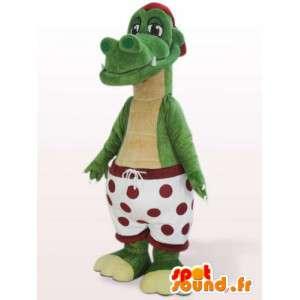 Drachen-Maskottchen Unterhose - Disguise imaginäre Tier - MASFR00931 - Dragon-Maskottchen
