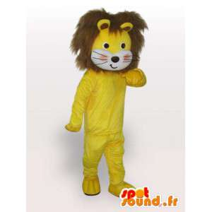 Mascotte de lion jogger - Déguisement d'animal sauvage
