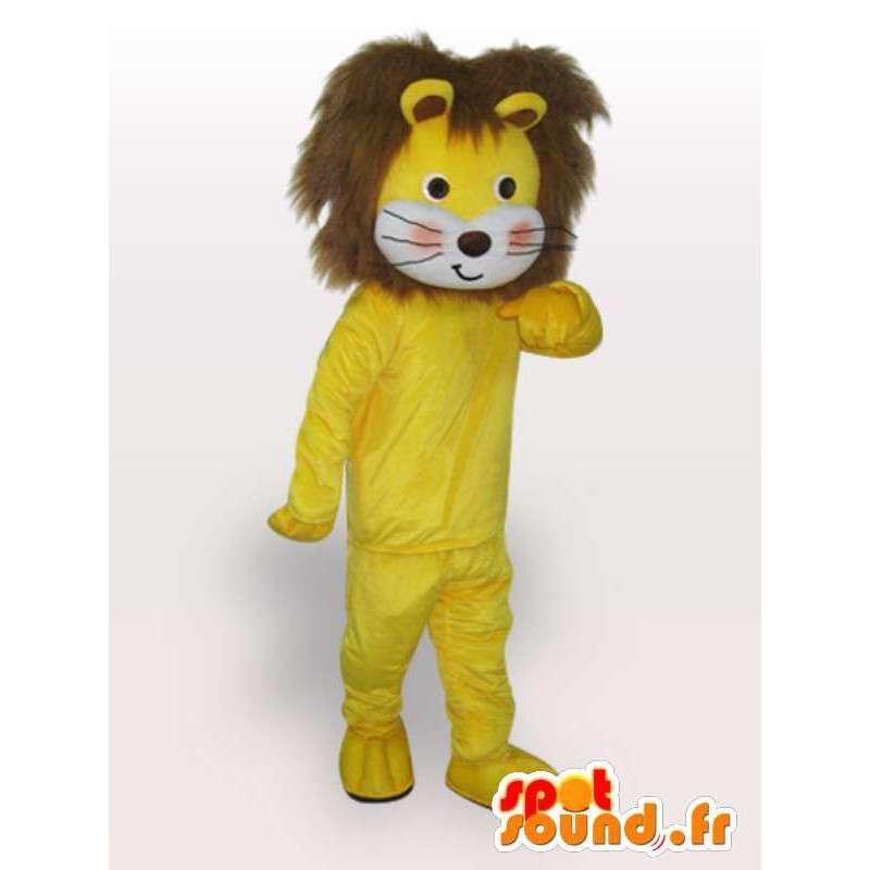 Lion maskot běžec - Wild Animal Disguise - MASFR001127 - lev Maskoti