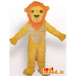 Lion mascot unhappy - Disguise stuffed lion