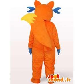 Wolf mascotte joker - Plush Costume - MASFR001154 - Wolf Mascottes