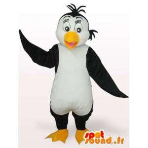 Πιγκουίνος μασκότ βελούδου - μεταμφίεση όλα τα μεγέθη