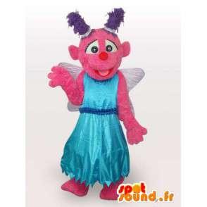Mascot imaginary character - dressed costume fabric - MASFR001108 - Mascots unclassified