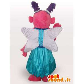 φανταστικό μασκότ χαρακτήρα - κοστούμι ντυμένος ύφασμα - MASFR001108 - Μη ταξινομημένες Μασκότ