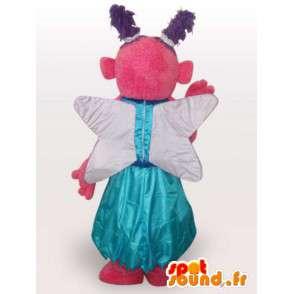 Kuvitteellinen hahmo maskotti - puku pukeutunut kankaan - MASFR001108 - Mascottes non-classées