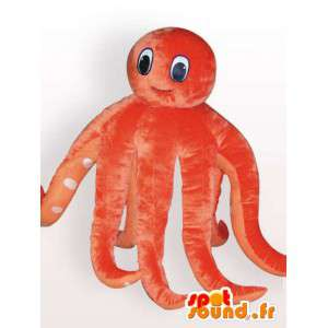 Mascot octopus - sea animal costume