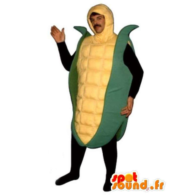 Mascotte de poupée de maïs - Déguisement de maïs toutes tailles - MASFR001087 - Mascottes Fast-Food