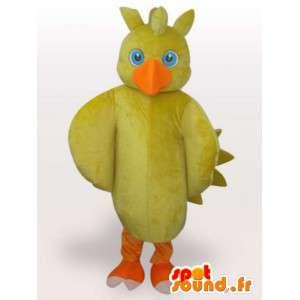 Mascot polluelo amarillo - animales de granja Disguise