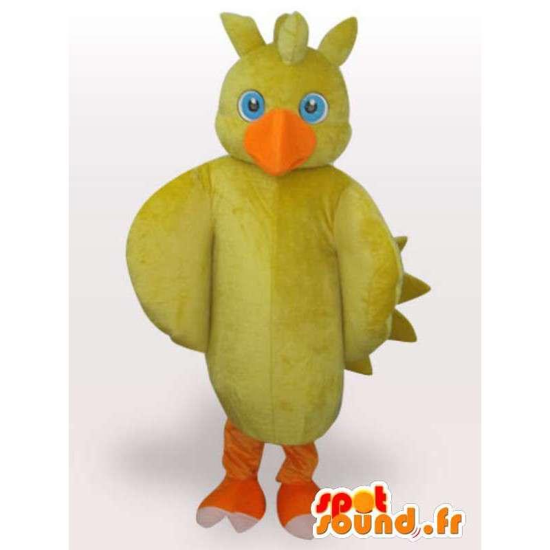 Yellow Chick Mascot - Farm Animal Disguise - MASFR00954 - Mascot Hens - Hanen - Kippen