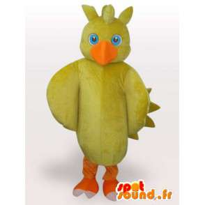 Mascotte de poussin jaune - Déguisement d'animal de ferme - MASFR00954 - Mascotte de Poules - Coqs - Poulets