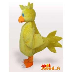 黄色いひよこマスコット - ファーム動物変装 - MASFR00954 - マスコット雌鶏 - ルースターズ - 鶏