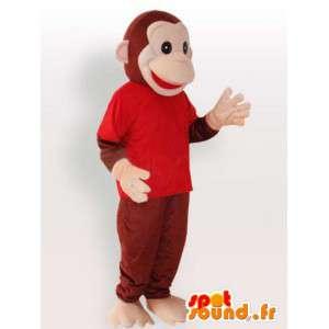 Monkey maskot - Kvalitetsdragt - Spotsound maskot