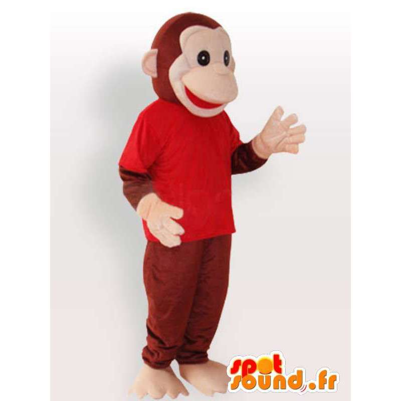 μασκότ Πίθηκος - ποιότητα μεταμφίεση - MASFR001119 - Πίθηκος Μασκότ