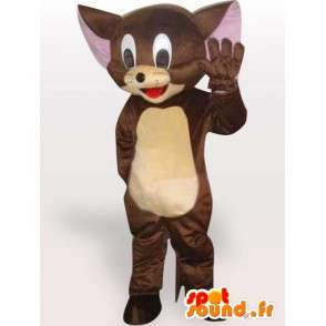 Mouse mascotte Jerry Brown - kleine knaagdieren Disguise - MASFR001133 - Mouse Mascot