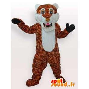 Tiger Mascot - Costume feline - MASFR00972 - Tiger mascots
