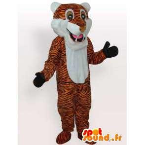 Tiger maskot - katten drakt - MASFR00972 - Tiger Maskoter