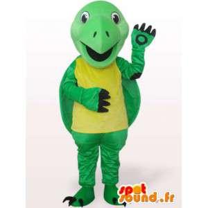 χελώνα μασκότ αστείο - Λούτρινα Κοστούμια