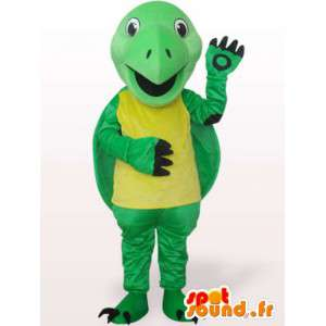 Sjov skildpaddemaskot - plys kostume - Spotsound maskot