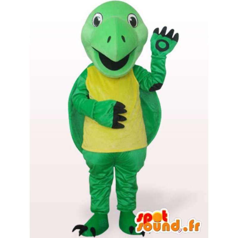 χελώνα μασκότ αστείο - Λούτρινα Κοστούμια - MASFR001111 - χελώνα Μασκότ