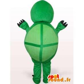 Lustige Schildkröte Maskottchen - Kostüme Plüsch - MASFR001111 - Maskottchen-Schildkröte
