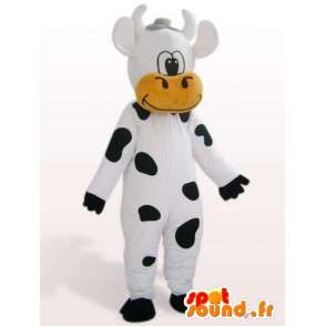 Funny mascot cow - farm animal costume - MASFR001132 - Mascot cow