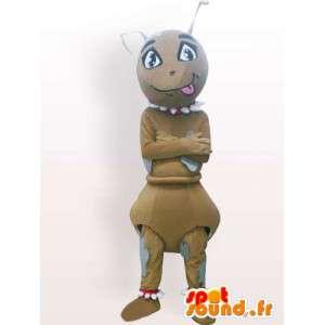 Maskotti muurahainen narttu - hyönteinen puku