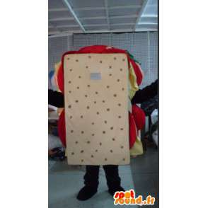 Maskotka ludzki billboard - jakość kanapka Disguise - MASFR001085 - Mężczyzna Maskotki
