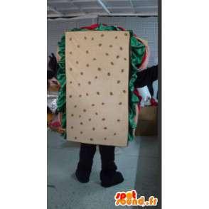 マスコット人間看板 - 品質のサンドイッチ変装 - MASFR001085 - マンマスコット