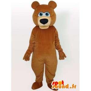 Teddy bear mascot - Disguise the female bear