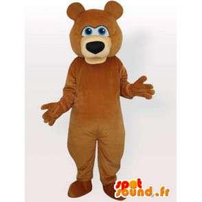 Mascotte oursonne - Déguisement de la femelle de l'ours - MASFR001135 - Mascotte d'ours