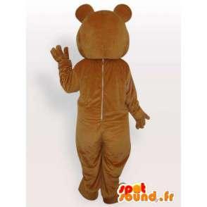 Teddy bear mascotte - Mascherare l orso femmina - MASFR001135 - Mascotte orso