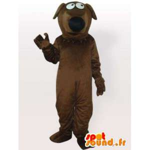 Gravhund maskot - Hundedragt - Spotsound maskot