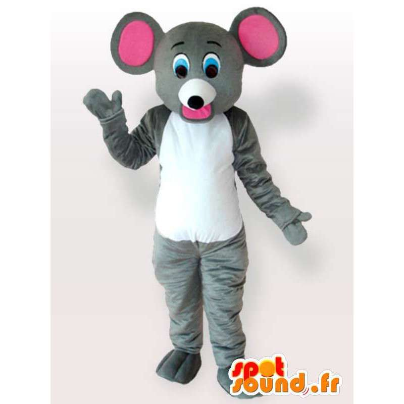 Mascot hiiri funny - Disguise laadukkaita hiiri - MASFR00958 - hiiri Mascot