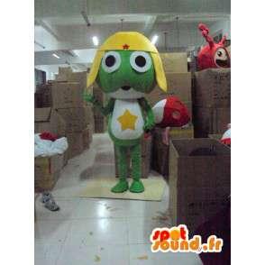 Frosch-Kostüm Raum - Disguise Frosch - MASFR001168 - Maskottchen-Frosch