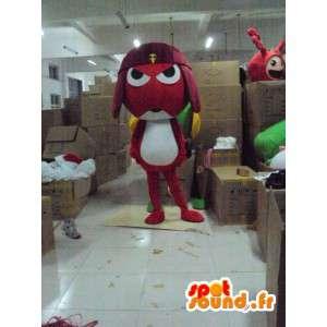 Samurai Frog Mascot - Costume character