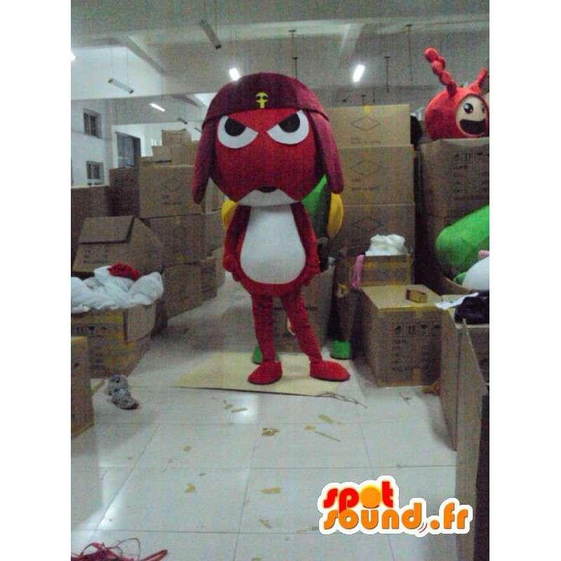 Samurai Frog Mascot - Costume character - MASFR001169 - Mascots insect