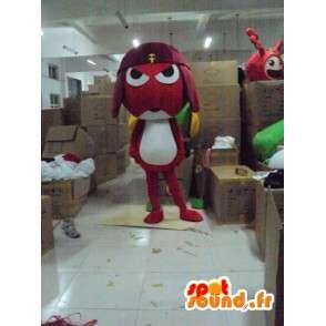 Mascot kriketti Samurai - Character Puvut - MASFR001169 - maskotteja Hyönteisten