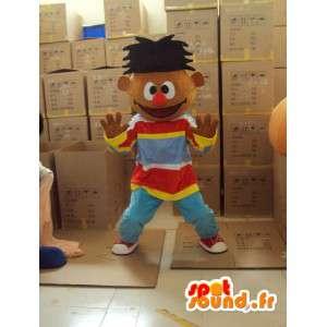 ράπερ μασκότ - βελούδινα χαρακτήρα κοστούμι