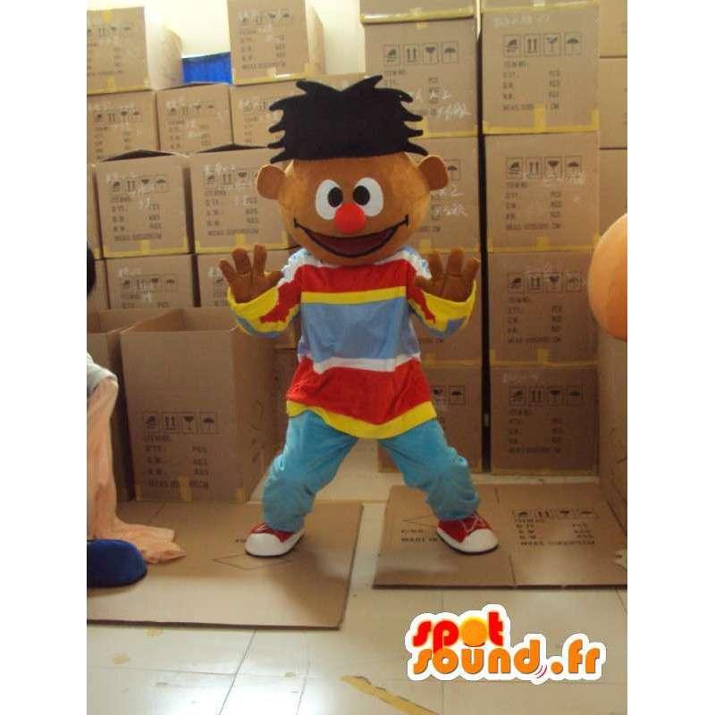 Rapper mascotte - Plush Karakter Kostuum - MASFR001170 - Mascottes Boys and Girls
