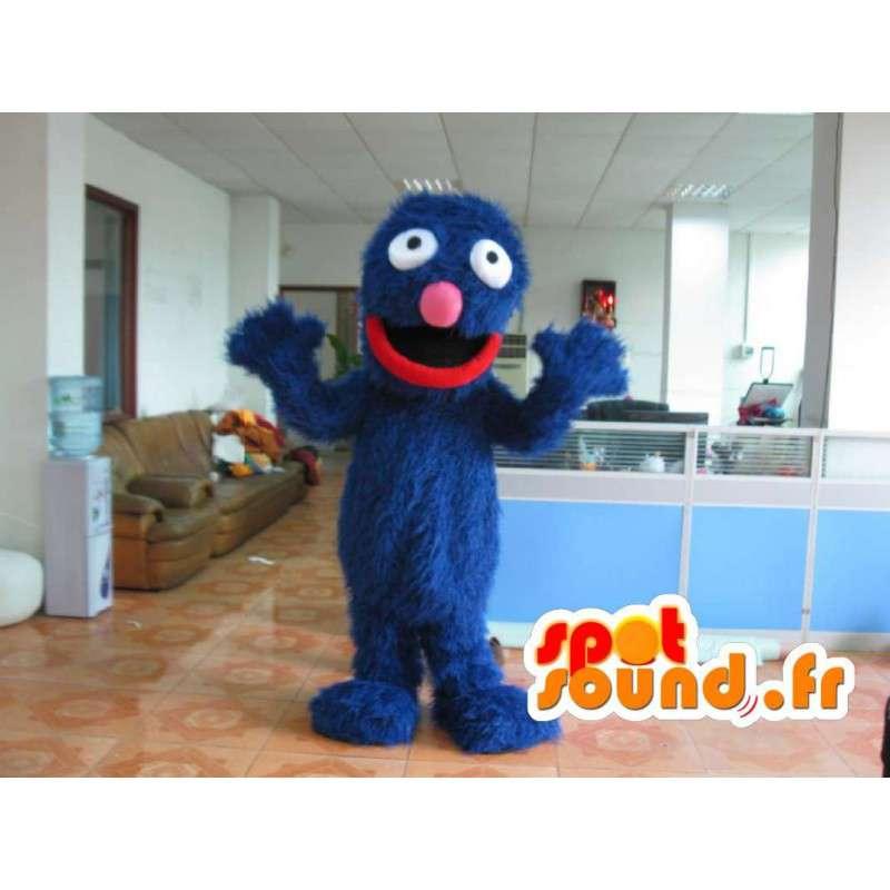 Grover Plush Costume - Disguise blauw - MASFR001171 - Niet-ingedeelde Mascottes