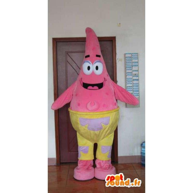 Mascotte d'étoile de mer rose - Déguisement animal de mer - MASFR001172 - Mascottes Etoile de Mer