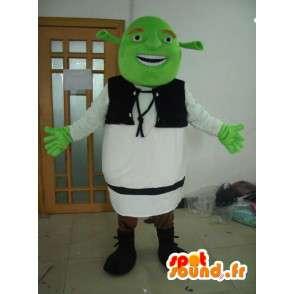 Sherk Mascot - Costume personaggio immaginario - MASFR001174 - Mascotte Shrek