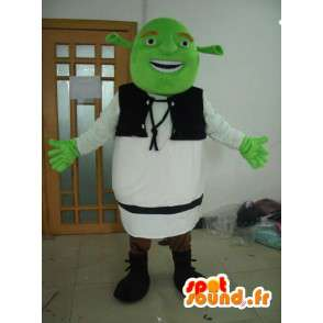 Shrek maskotti - kuvitteellinen hahmo puku - MASFR001174 - Shrek Maskotteja