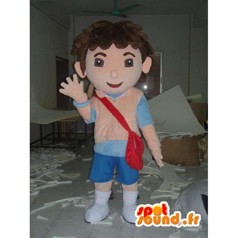 Mascotte de Diego - Déguisement de qualité - MASFR001179 - Mascottes Dora et Diego